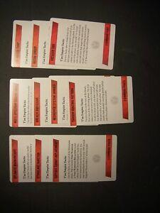 10 Tau Kill Team Tactics Cards
