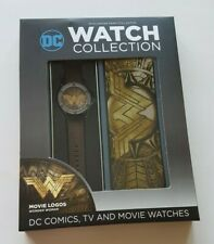 Eaglemoss Hero Collector DC Watch Collection Wonder Woman Movie Logo