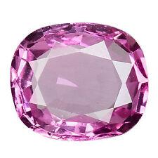 Cushion Transparent Pink Loose Natural Sapphires