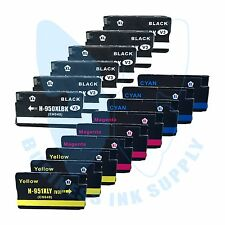 15 PACK 950XL Ink cartridges 951XL For HP Officejet 8600 8100 with NEW CHIP