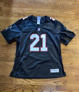 Vintage Ladies Deion Sanders Atlanta Falcons NFL Jersey 2XL