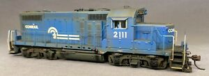 New - Weathered Broadway Limited EMD Conrail GP20 #2111 DC/DCC/sound HO scale