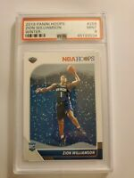 Zion Williamson Panini Hoops Holiday Winter Edtion Graded PSA 9 Mint Rookie...