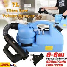 7L Pulverizador Atomizador ULV Nebulizador Eléctrico Mosquito Killer droga Pulverizador Office Hogar