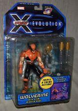 X-Men Evolution Wolverine with Claw Blaster Base Action Figure - New - Toy Biz