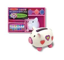 Piggy Bank for Kids - Decorate Your Own Piggy Bank by Melissa & Doug