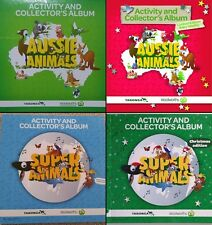 Woolworths CARDS!! * Any 5 Cards for $1.00 * Aussie & Super Animals Available!!