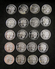 Isle Of Man Crown 2008 UNC, Christmas,  James and the Snowman, A Roll of 21 Pcs