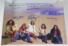 ALICE COOPER GROUP Signed Autograph 20x30 Photo Poster by All 4 Band Members