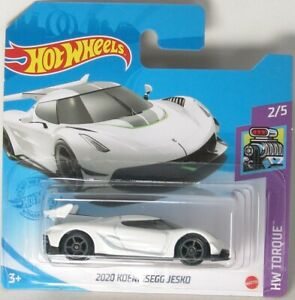 Hot Wheels 2021 #86 - GTC51 - HW Torque - 2020 Koenigsegg Jesko ..