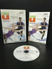 New U Mind Body, Yoga & Pilates Workout (Nintendo Wii, 2010) Complete