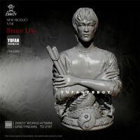 Bruce Lee Resin Bust 1/10 Model Kits GK Unpainted YUFAN