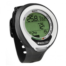 Mares Dive Computer for Scuba Wrist Watch Nitrox Diving Puck Pro+ Plus White 4UK