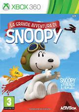 La Grande Avventura Di Snoopy XBOX 360 IT IMPORT ACTIVISION BLIZZARD