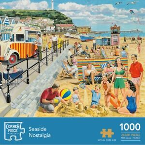 Seaside Nostalgia 1000 Piece Jigsaw Puzzle, Toys & Games, Brand New