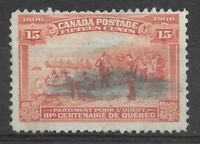 Stamp of Canada - KEDVII 1908 - Sg 194 - 15c Brown-orange - Used