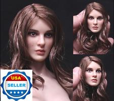 1/6 Natalie Portman Head Sculpt KT008 For Hot Toys Phicen Female Figure ❶USA❶