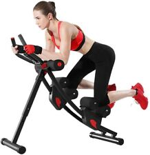 Adjustable Abs Core Workout Machine Abdominal Trainer Foldable Fitness Exercise
