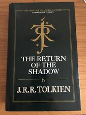 The Return of the Shadow, J.R.R. Tolkien, History Of Middle Earth, 1993.