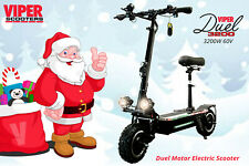 Electric Scooter 3200W 60V Viper Duel New 2020 Model, Christmas Sale