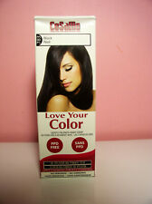 CoSaMo Love Your Color Black  Gently Blends Away Gray No Peroxide No Ammonia