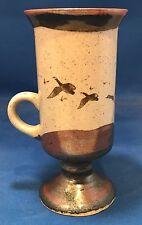 Otagiri Irish Coffee Mug Cup Birds Geese in Flight