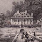 Lithographie 1835 Isère Bains d'Uriage Dauphiné Uriage les Bains Thermalisme