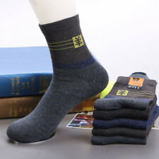 5 10Pairs Mens Thicken Wool ANGORA Cashmere Mixed Colors Busness Dress Socks Lot