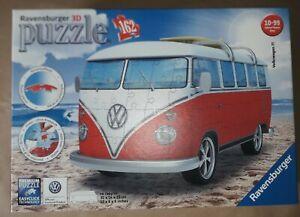 BNIB Ravensburger Volkswagen T1 Surfer Edition 3D Puzzle.