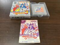 GameBoy Rockman World 3 Megaman capcom nintendo with BOX and Manual RARE
