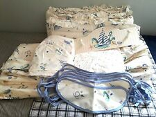 Laura Ashley 14 sets Nursery Bedding Seahorse,Fishes,Anchor & ship