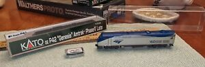 KATO JAPAN #176-6031 GE P42 #160 Amtrak Phase V Late Engine Locomotive MIB