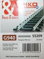 PIKO 55209 - CONFEZIONE 22 Binari H0 flessibile 940mm
