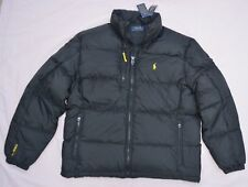 New XL Polo Ralph Lauren Men puffer down ski trek winter jacket black coat snow