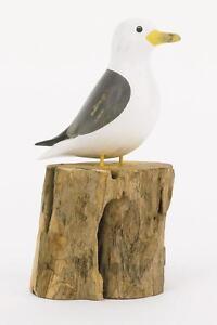 Archipelago Fair Trade  wooden bird -D353 -Small Seagull