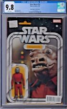 STAR WARS # 15 Action Figure Variant Cover CGC 9.8 Marvel 2015