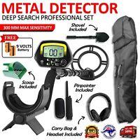 Metal Detector Deep Sensitive Searching Gold Silver Digger Treasure Hunter LCD