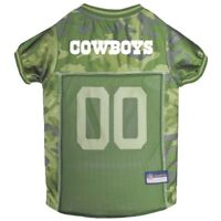 Dallas Cowboys NFL Pets First Licensed Dog Pet Mesh CAMO Jersey XS-XL NWT