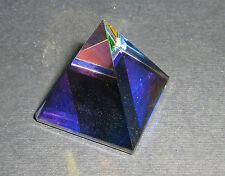 Piramide Cristallo Peackoc GLASS CRYSTAL COLOUR PYRAMID ORNAMENT 105891-25