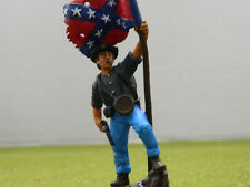 1/32 SCALE / 54MM AMERICAN CIVIL WAR CONFEDERATE   FULLY  PAINTED FIGURE