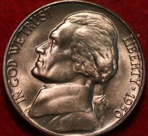 Uncirculated 1950-D Denver Mint Jefferson Nickel