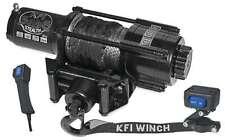 New KFI Wide 4500 lb Stealth Winch & Mount 2013-2015 John Deere Gator RSX 850i