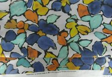 Highland Court Abstract Floral Print Fabric Primavera Aegean 1.2m    RRP £180