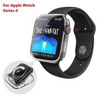 Apple Watch Series 6/5/4/SE Case iwatch TPU Gel Screen Protector ultra thin
