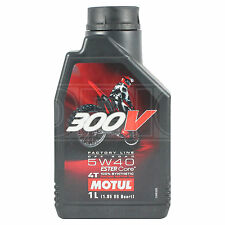 Motul 300V Factory Line 5W-40 4T OFF ROAD Motorcycle Engine Oil 1 Litre 1L
