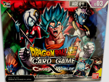 2 - DRAGON BALL SUPER TCG SERIES 3 CROSS WORLDS BOOSTER SEALED BOX