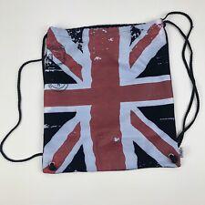 Busch Gardens Draw String Bag Union Jack UK Flag H25