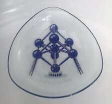 Brussels 1958 World Fair Glass Dish