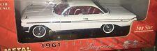 Sun Star Chevrolet Impala SS 409 De 1961 Maqueta Americana Coche 1:18 En Caja
