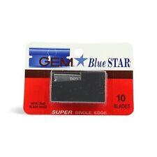 GEM Blue Star Super Single Edge Blades, 10 Ct